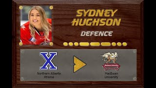 Sydney Hughson - CSSHL to ACAC | Stand Out Sports Client Hall of Fame