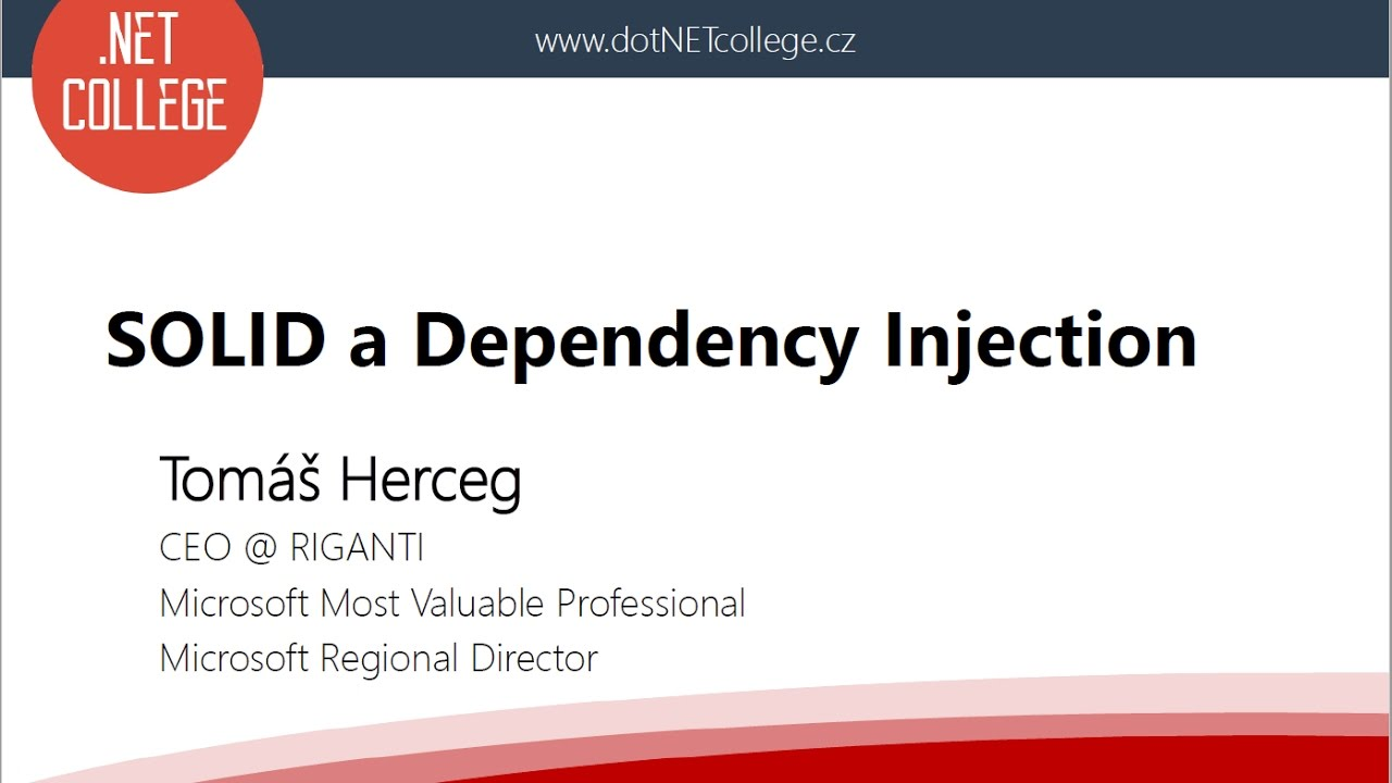 SOLID a Dependency Injection