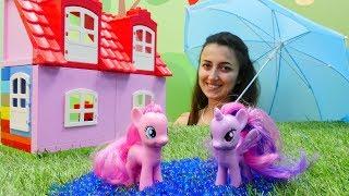 Sevcan Ponyler için ev ve oyun parkı yapıyor!