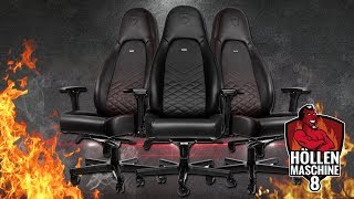 GAMING-THRON: noblechairs ICON - Höllenmaschine 8 | #Gaming-PC