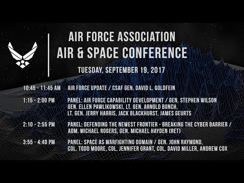 2017 Air & Space Conference Tuesday Sep 19, 2017
