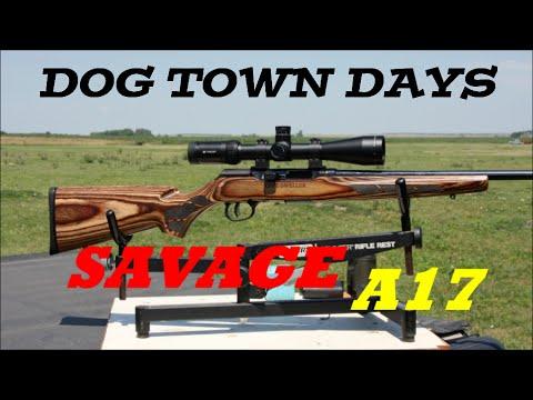 Savage A17 17 HMR Prairie Doggin