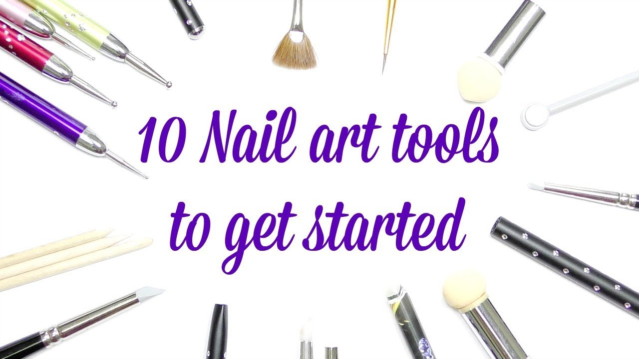 Best Nail Art Tools For Beginners Youtube