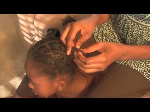 ♥ 12 ♥  African Threading: How to Remove