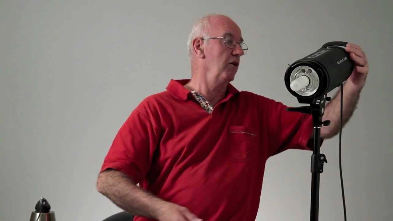 sc 1 st  YouTube & Flash strobe or continuous lighting for studio work - YouTube