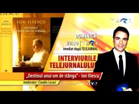 Destinul unui om de stânga: Ion Iliescu vine la Interviurile Telejurnalului