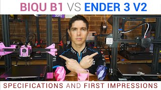 Ender 3 V2 vs BIQU B1 - Battle of the upgraded Ender 3s