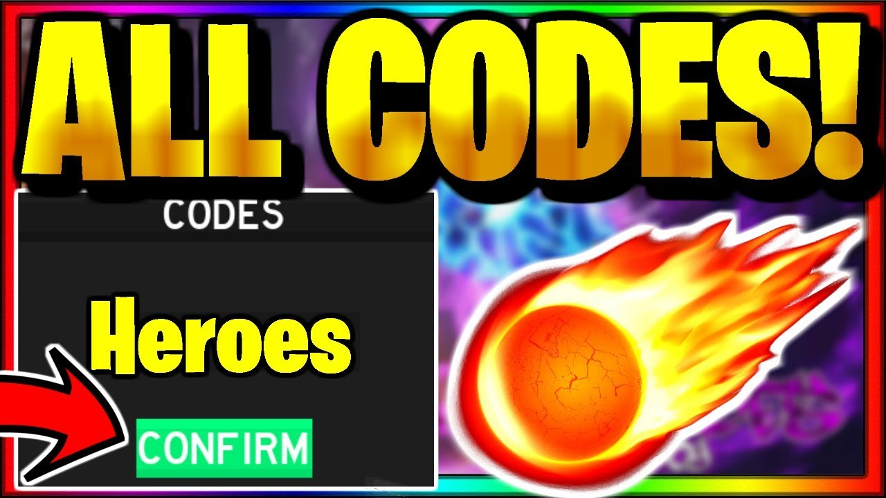 Heroes Legacy Codes Roblox July 2020 Mejoress