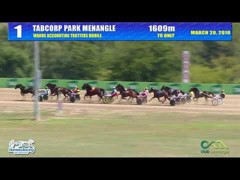 TABCORP PK MENANGLE - 20/03/2018 - Race 1 - WARDS ACCOUNTING TROTTERS MOBILE