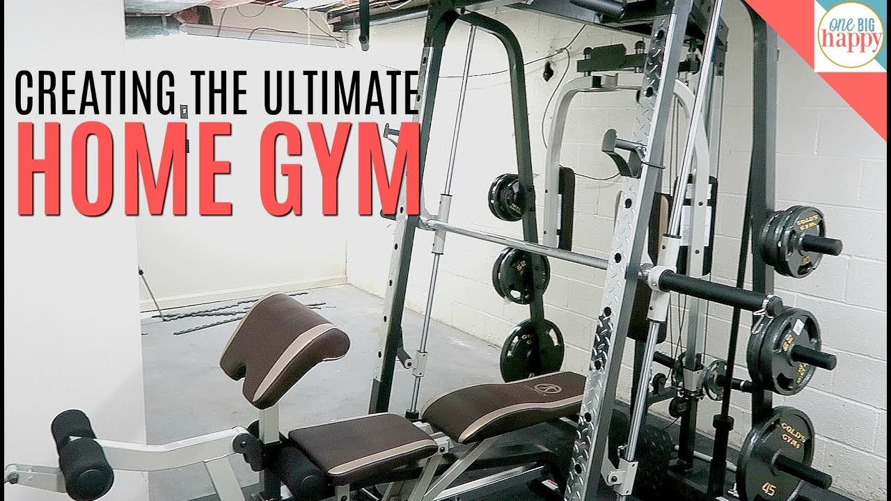 Our home gym setup new equipment for our home workout youtube