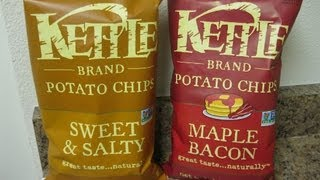 Kettle Brand Potato Chips Review (sweet & Salty; Maple Bacon)