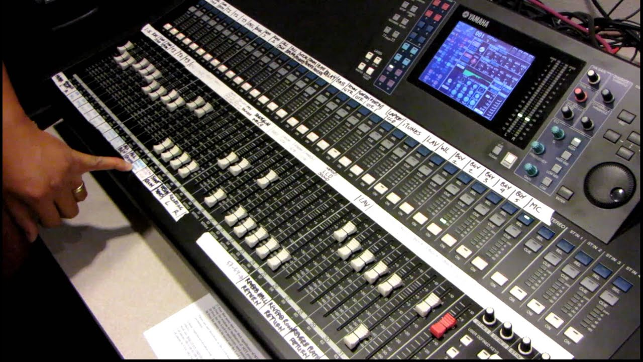 yamaha digital mixing console ls9 32 tutorial by haniel trisna p2of3 rh youtube com Yamaha LS9- 16 Yamaha LS9-32 Guide