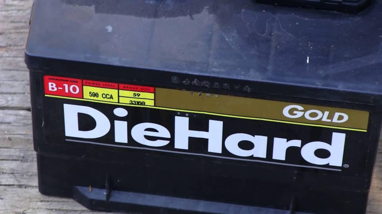 Date Code On A Diehard Car Battery