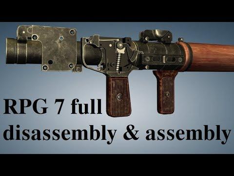 rpg-7:-full-disassembly-&-assembly