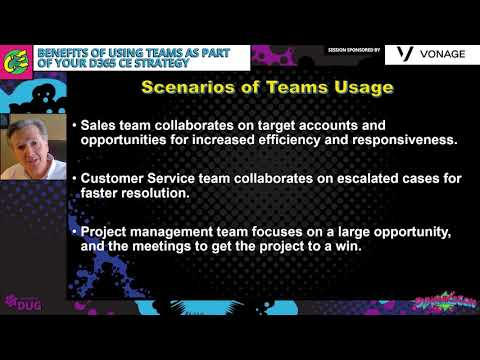 John Kegel - Benefits of Using Teams as Part of Your Dynamics 365 Customer Engagement Strategy