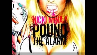 POUND THE ALARM - NICKI MINAJ (Instrumental with background vocals)