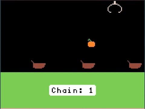 MakeCode Arcade Game of the Week: Pumpkin Drop @adafruit @johnedgarpark #adafruit @MSMakeCode