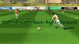 FIFA 09 PC tutorial tricks