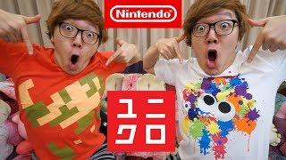 ユニクロの任天堂コラボTシャツ全種類買ってみた!