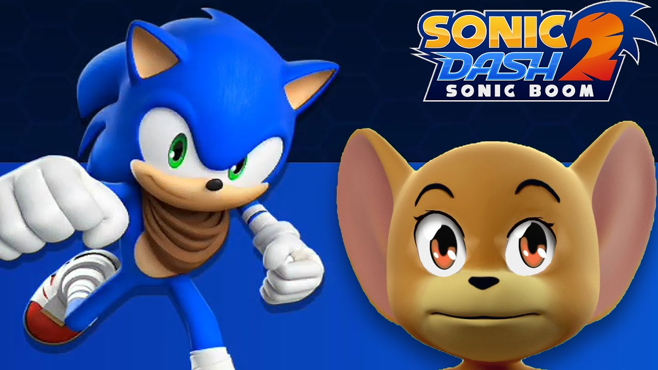 Tom and Jerry Plays Sonic Dash 2: Sonic Boom / Cartoon Games KIds TV