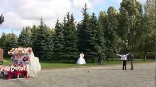 Сва́дьбы, тради́ции России wedding at victory Park part III