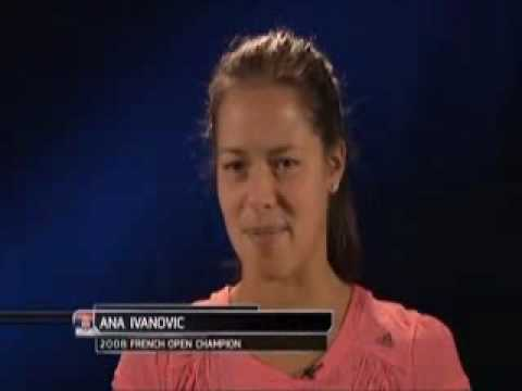 Ivanovic and Clijsters talk about playing each other