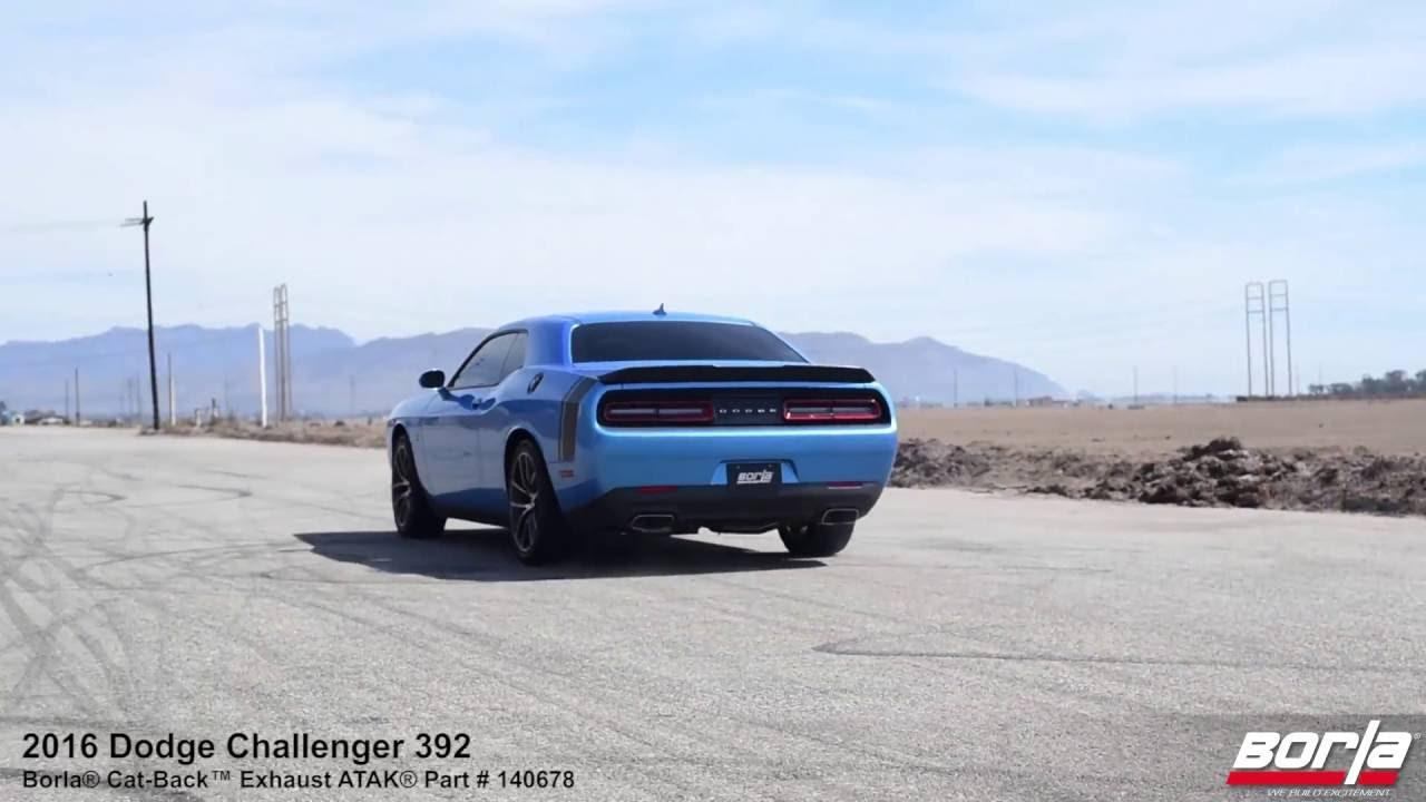 2009 2014 dodge challenger rt exhaust