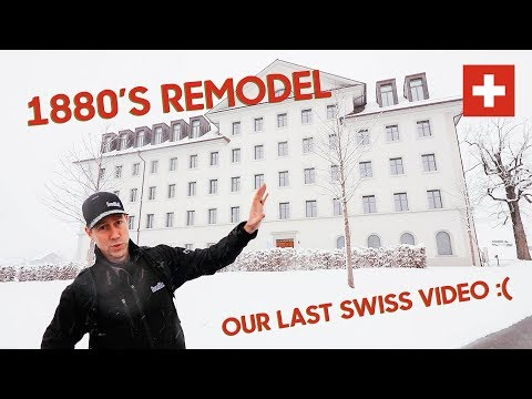 Traveling Builder?  Book A Room In This Cool Swiss High Performance B&B