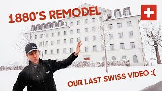 High Performance 1800's Swiss Building - Cool Swiss Details!