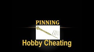 Hobby Cheating 185 - H๐w to Pin Models