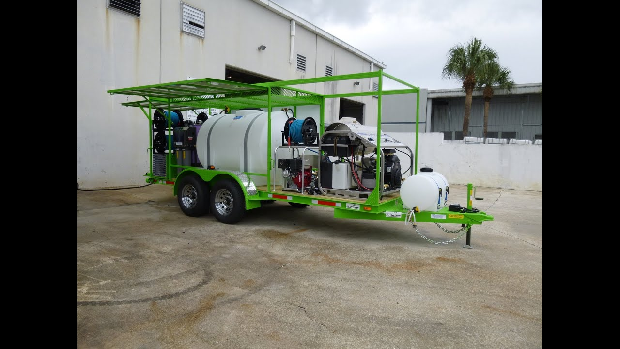 Mobile Waste Water Recycling System Amp 30 Hp 3500 Psi 9