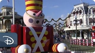 Time Lapse Video: Magic Kingdom Park Decorated For The Holidays