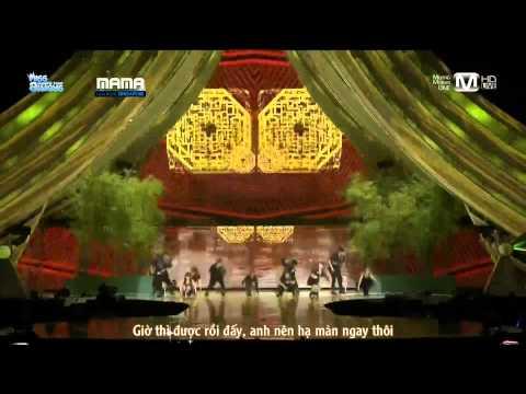 [Vietsub][Full HD] 111129 miss A & Wei Chen @ MAMA 2011