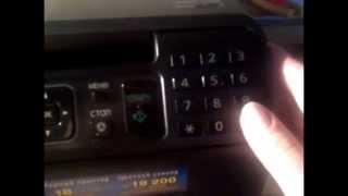 Hisoblagich bir Panasonic bo'yicha Reset toner KX-1500