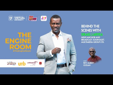 In #TheEngineRoom with Israel Laryea on Springboard, your Virtual University
