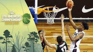 [91.99 MB] USA v Mexico - FIBA U16 Americas Championship 2019 [POR]