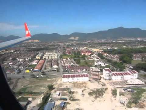 Malindo Air B737-800 OD820 Landing in Ipoh