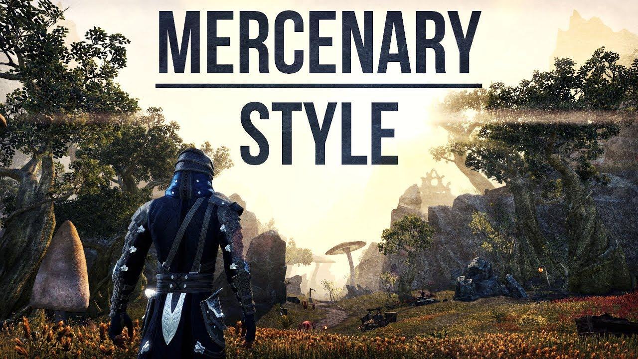 eso how to get mercenary motif