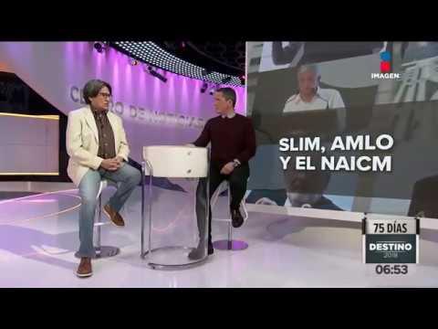 Slim, AMLO y el NAICM en palabras de Julio Astillero | Noticias con Francisco Zea