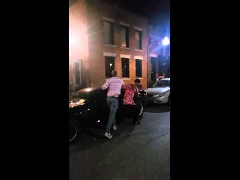 Black dude in Westport kansas city Missouri gets r