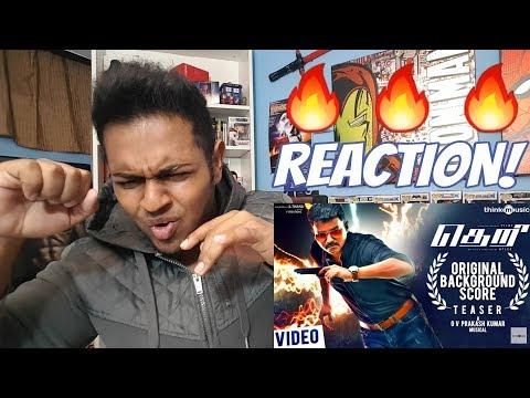 Theri Original Score Teaser Reaction | Vijay | Atlee | G.V. Prakash | Thalapathy61 WILL BE FIREE!!
