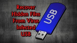 How to Recover Files from a Virus Infected USB Flash Drive on Windows 10 2018