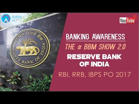 Banking Awareness | Reserve Bank Of India | IBPS RRB PO & SS