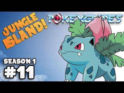 POKEXGAMES #11 - Jungle Island / Explorando a Ilha !!