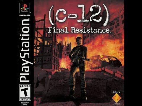 C-12 Final Resistance (PSX) Walkthrough part 2/2