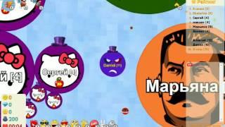 игра Голодные Игры круче Агарио приложение в контакте