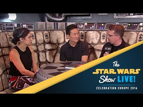 Art of Star Wars: The Force Awakens Interview | Star Wars Celebration Europe 2016
