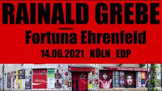 Rainald Grebe im EDP feat. Fortuna Ehrenfeld