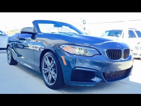 2015 BMW 2 Series: M235i Convertible Full Review /Exhaust /Start Up