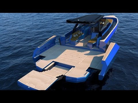 Evo WA Yacht with adjustable deck space